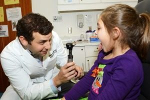 pediatric sore throat treatment birmingham